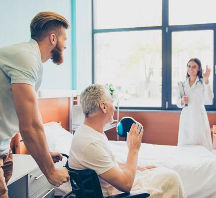 hospital discharge caregivers