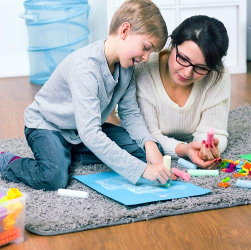 in home child care services in michigan